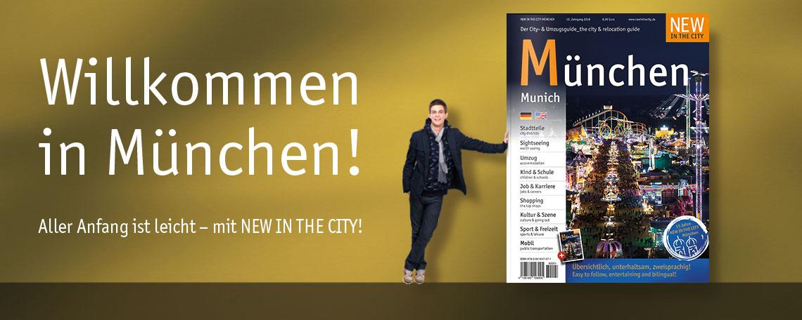 NEW IN THE CITY München Magazin
